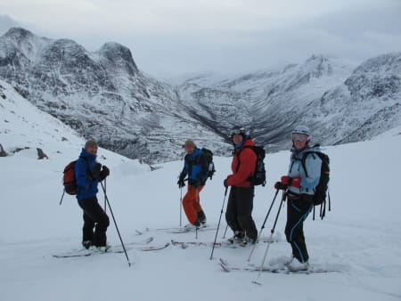 Erlend, Tore, Jørund og Ragnhild