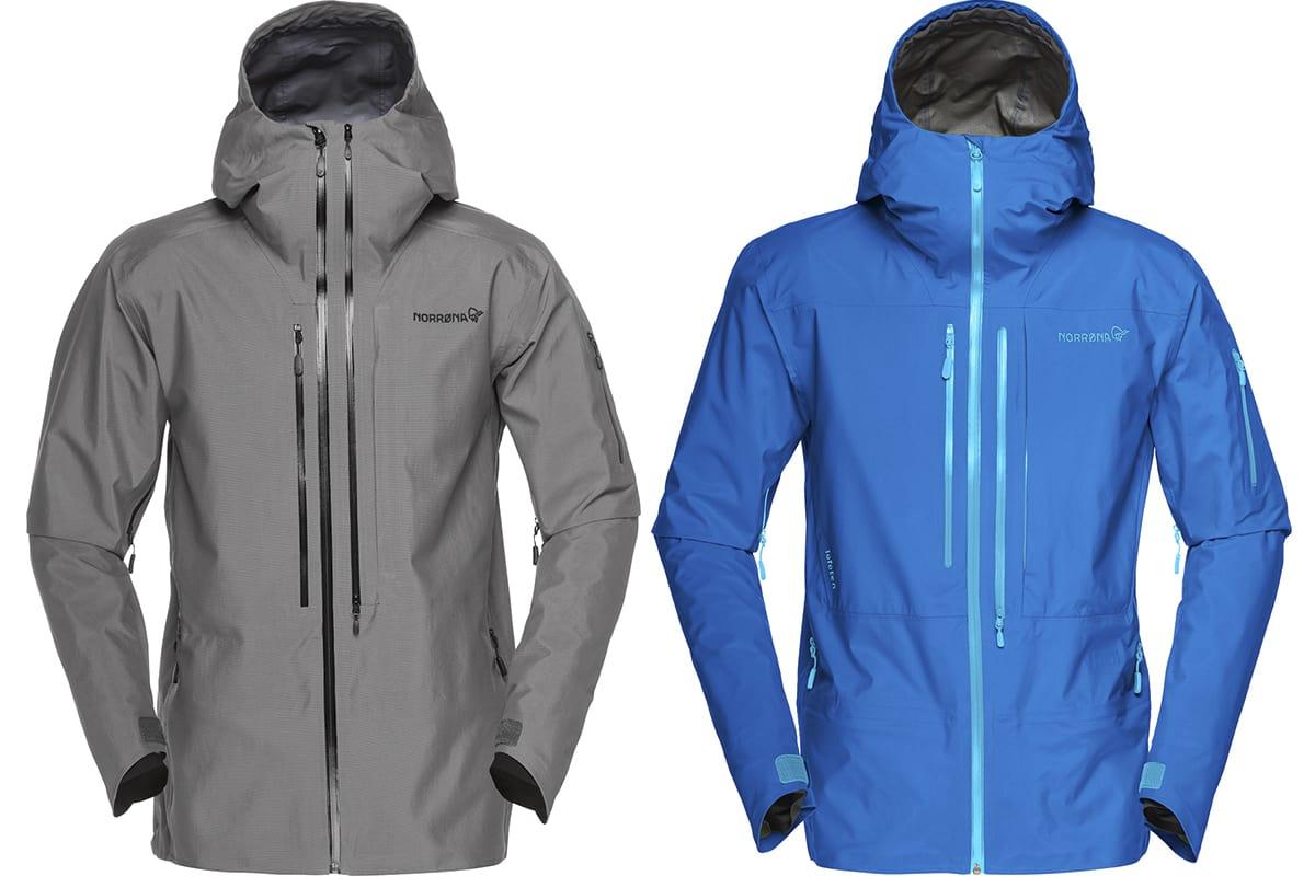 NY TIL HØSTEN: Lofoten-serie blir helt ny. Til venstre ACE-jakka, til høyre Lofoten Pro.