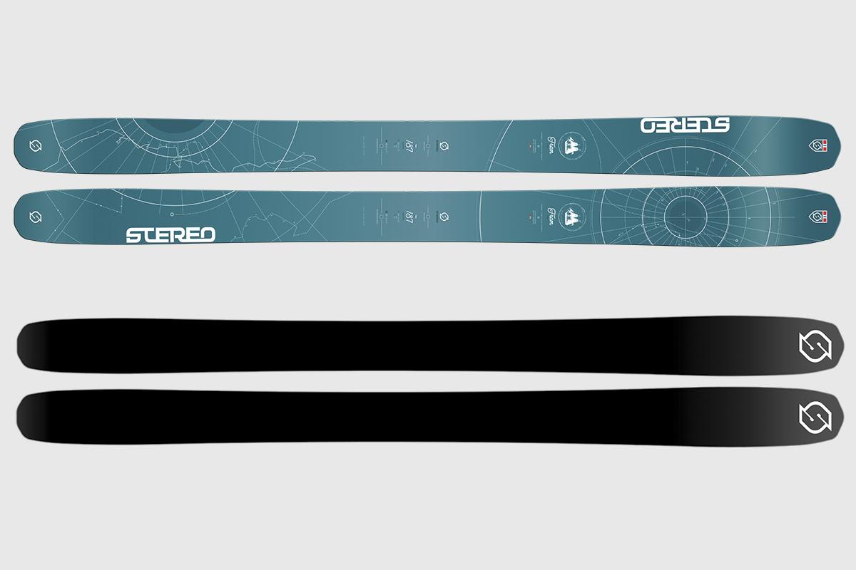 NY SKI: Til neste år kommer Fram - en lettere frikjøringsski fra Stereo. Foto: Stereo skis