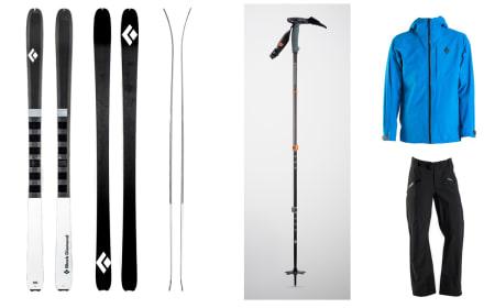 UTVIDER: Black Diamond utvider både ski- og softshellutvalget til neste vinter, og de oppgraderer skistaven for skikjøring som er så bratt at du må ha isøks tilgjengelig.