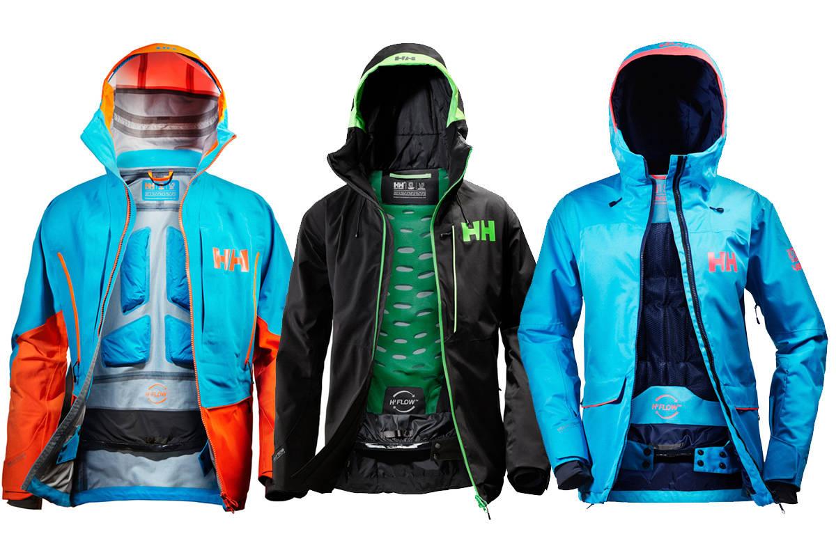 NYE: Tre nye jakker fra Helly Hansen.