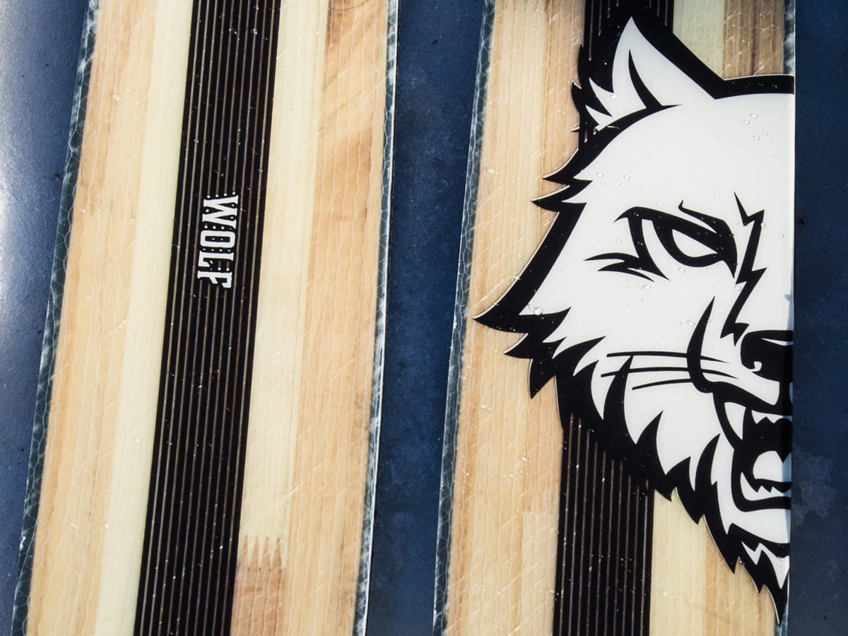 ULV I TREKLÆR: Wolf blir 108 mm bred og mellomstørrelsen i den nye Predator-linja til Stereoskis. Foto: Christian Nerdrum
