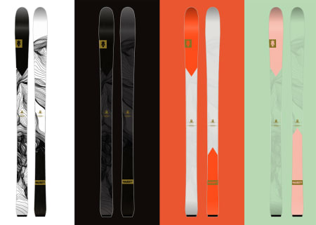 NY SERIE NESTE SESONG: Adventure er nye ski fra Majesty.
