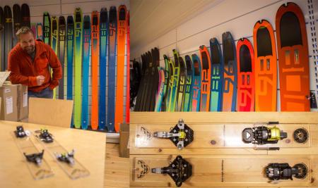 Nye ski og bindinger fra Dynafit