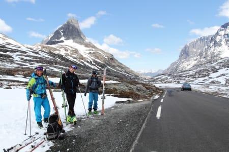 LOKALE ENTUSIASTER: Fra venstre: Ole Kristian Silseth, Thomas Vekve og Trond Stokke.