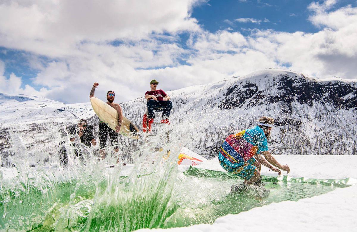 GLOVARMT: Vårens feteste parkarrangement må avlyses på grunn av sterk varme og snømangel. Foto: Sverre Hjørnevik