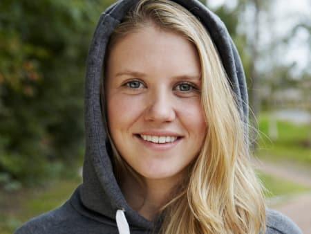 NYOPERERT: Nå venter en lang opptrening for Tiril Sjåstad Christiansen. Foto: Birgit Solhaug