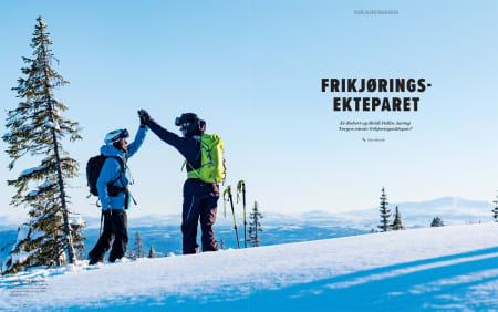 Er Robert og Heidi Pallin Aaring Norges råeste frigjørings-ektepar?