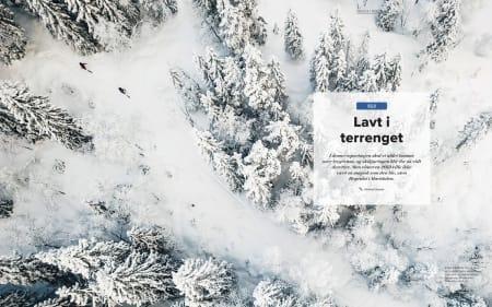 Høgruta i Maridalen er en lang og mildt sagt eksotisk (topptur)-skitur.