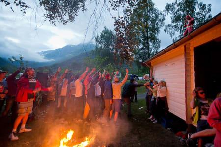 Fest... Foto: Vegard Breie