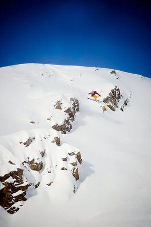 – Even har kontroll på hele fjellet. Foto: Vegard Breie