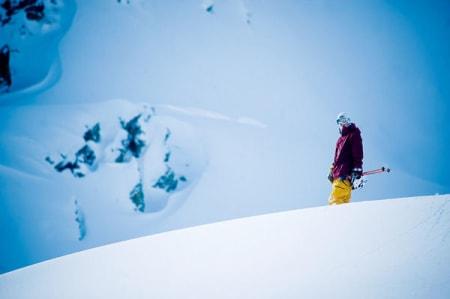 Even Sigstad klar for å sette utfor. Foto: Vegard Breie