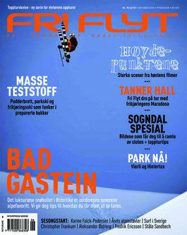 Slik ble coveret til slutt. Snikles bladet på lanseringsfesten 22. september.