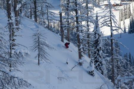 FAVORITT: Mange anser Whitewater som sitt kanadiske favoritt-skisted. Fri Flyt og Bård Gundersen (bildet) kan godt forstå det.