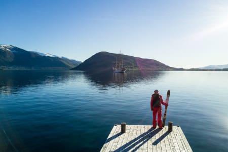 SPESIELL TUR: Bård Smestad er klar for en unik opplevelse på Vestlandet. Foto: Christian Nerdrum