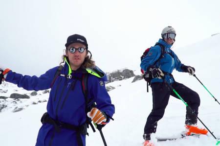 PÅ TOPPTUR: Bli med «norske» Wille Lindberg på topptur. Foto: Skjermdump