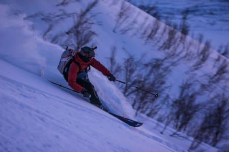 Bra snø og full fart! – Foto: Ptor Spricenieks