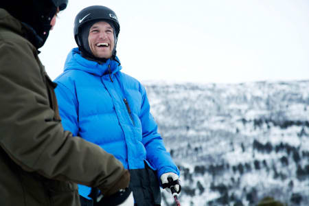LØSTE SEG TIL SLUTT: Konflikten mellom Andreas Håtveit og Norges Skiforbund fikk en lykkelig utgang, og Andreas syns det er synd det ikke har fått like mye oppmerksomhet som selve konflikten. Foto: Thomas Kleiven