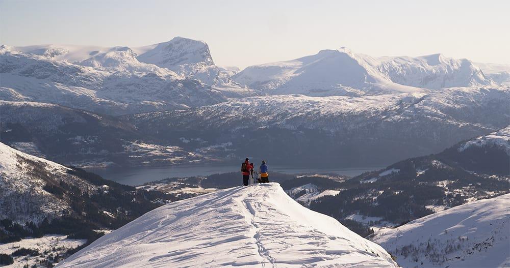 URØRTE FJELL: Terrenget rundt Harpefossen skisenter egner seg godt til catskiing, men først må det finnes rom for dette i lovverket. Foto: Harpefossen skisenter