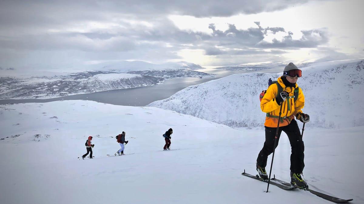 FAMILIEPÅSKE: Etter bootcamp i Oslo 3 er familien klar for Nordfjellet. Foto: Esben A. Nilssen