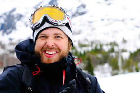 Anders Døhl var også svært godt fornøyd etter dagens høyeste poengsum. Foto: Vegard Breie