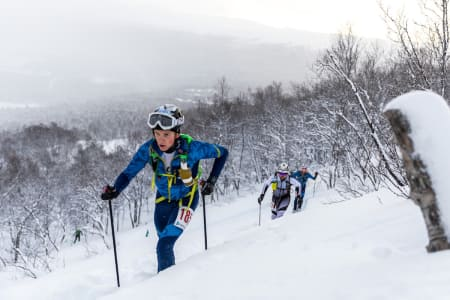 Hans-Inge Klette Norgescup-debuterte til dobbletseier i helgas åpningsrenn på Bjorli. Foto: Haakon Funderud Lundkvist