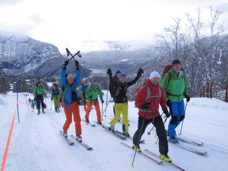 Stryn Rando arrangeres for tredje gang 24.mars, og byr på både Norgescuprenn, trim- og toppturklasser. Foto: Johan Olai Svidal