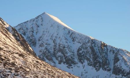 Vestrenna fra toppen av Kyrkjetaket