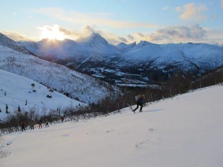 Innfjorden. Foto: Bård Smestad