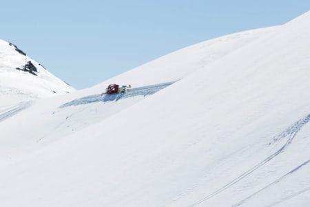 ÅPNER FOR CATSKIING: Regjeringen åpner for catskiing i Norge - i første omgang som en prøveordning. Foto: Tore Meirik