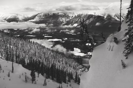 FØRST UT: Selkirk Wilderness Skiing had fraktet skikjørere til førstespor siden 1975.