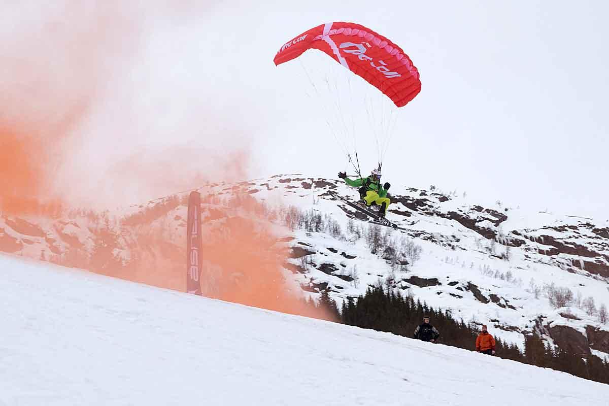 REKORDFESTIVALEN: Ikke bare ble det satt norsk rekord i speedriding under årets Fjellsportfestival, det er også den største utgaven av festivalen noensinne, og festivalsjefen mener taket er nådd. Foto: Jens A. Kristensen