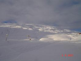 MYE SNØ: Slik så det ut i Røldal mandag. Foto: Røldal skiheiser