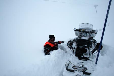 NORGESTOPPEN: Røldal er også det skisenteret i Norge med mest snø om dagen, med gærne 210 cm på toppen! Foto: Røldal Skisenter.