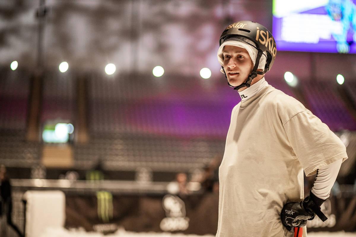 BESTE NORSKE: Birk Ruud leverte da det gjaldt og ble nummer to i kvaliken i Telenor Arena. Foto: Andreas Løve Storm Fauske
