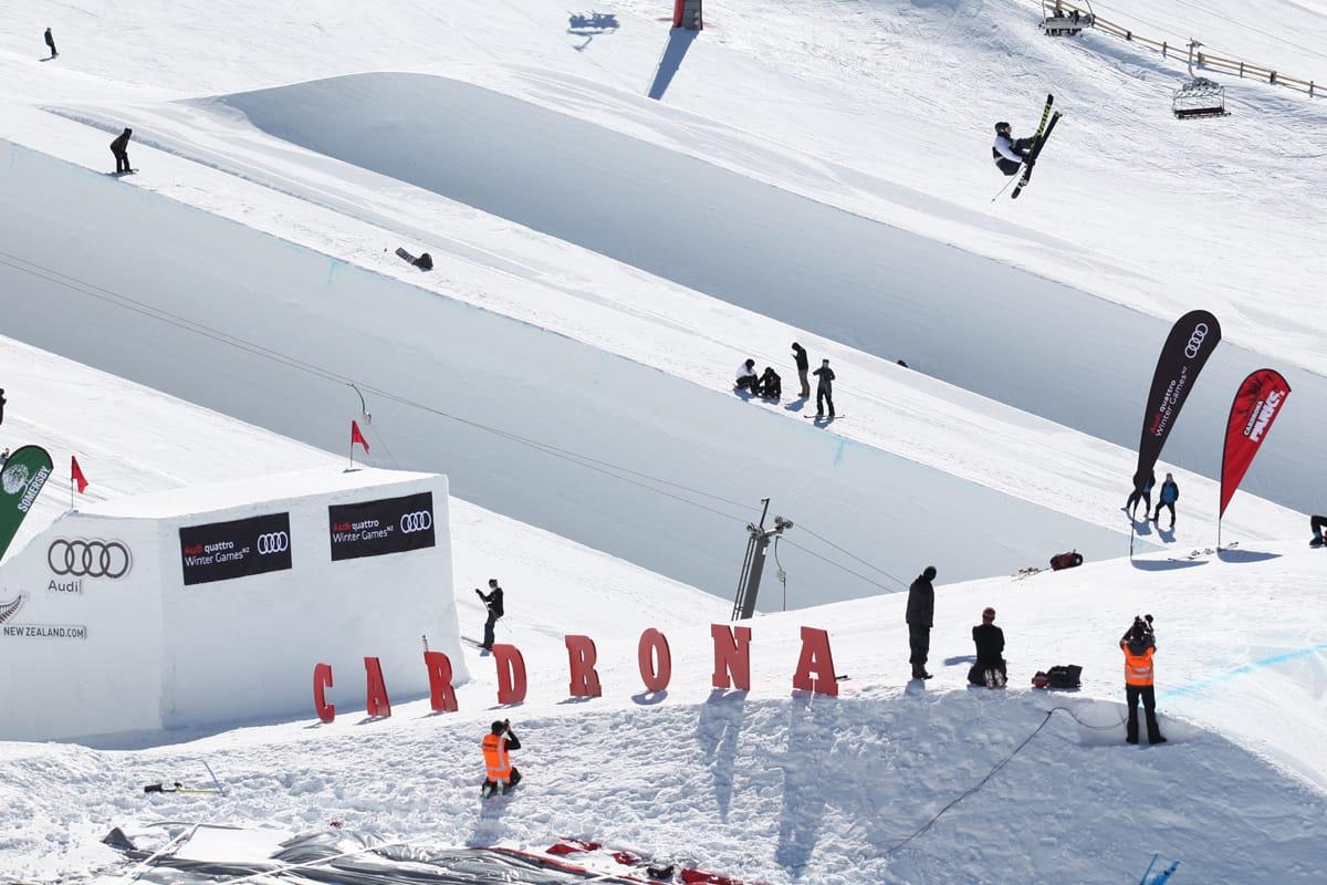FJERDEPLASS: Birk Ruud ble beste nordmann da verdenscupen i big air starta på New Zealand. Han ble nummer fire. Foto: FIS