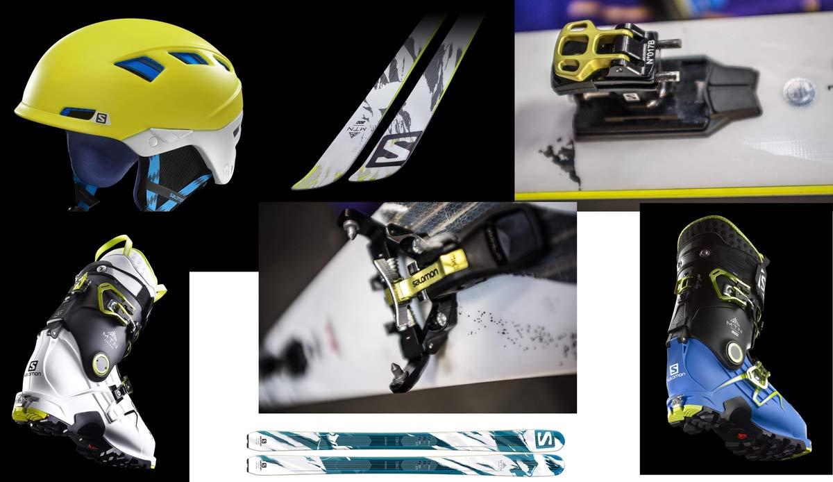 NESTE VINTER FRA SALOMON: Lette ski, lette støvler, ny techbinding og hjelm med eksotisk CE-godkjenning kommer fra Salomon til vinteren 2015/16.