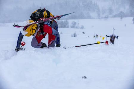 Stine-Mari Haustreis ble nummer to både fredag og lørdag. Foto: Haakon Funderud Lundkvist