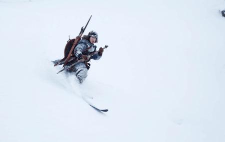 FRIKJØRING ANNO 1206: Sondre Loftsgarden er en annen figur i frikjøringsmiljøet som var stuntmann til filmen Birkebeinerne. Premieredato er 12. februar 2016. Bilde: Thomas Kleiven