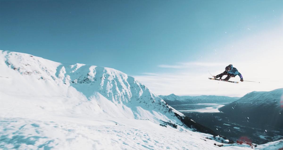 I GODT SELSKAP: Robert Ruud fra Hallingdal i aksjon i selveste Alaska.