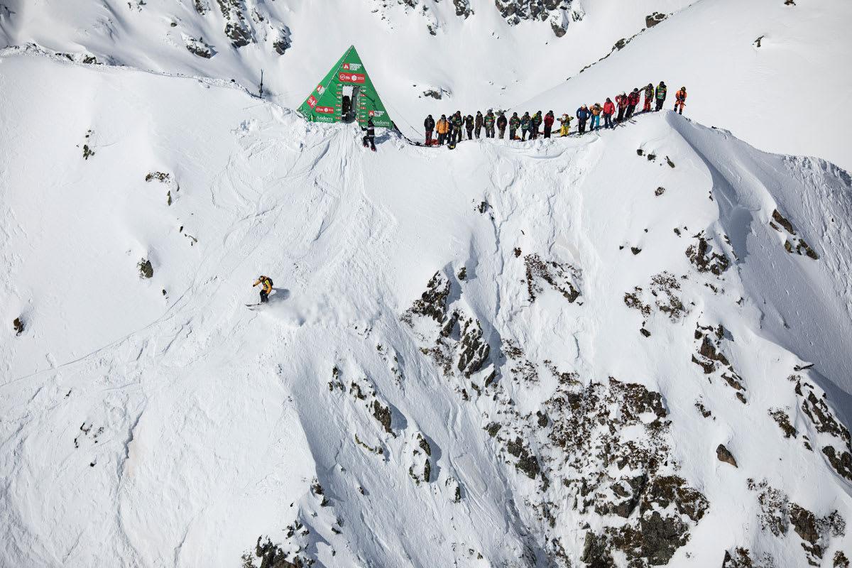 PRØVER IGJEN: FWT-sirkuset satser på å gjennomføre fjerde og nest siste runde i Andorra torsdag. Foto: Dom Daher