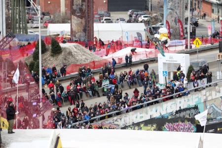 INN TIL DOBBELTSEIER: Christian Nummedal vant ikke bare siste runde i verdenscupen i big air, han vant også hele greia sammenlagt. Foto: FIS
