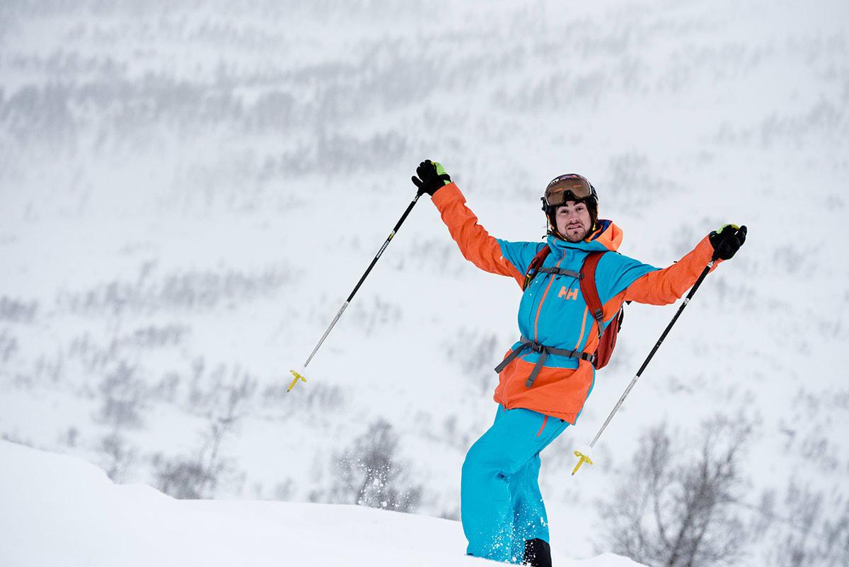 KLAR: Dennis Risvoll er klar for Alaska. Foto: Martin I. Dalen