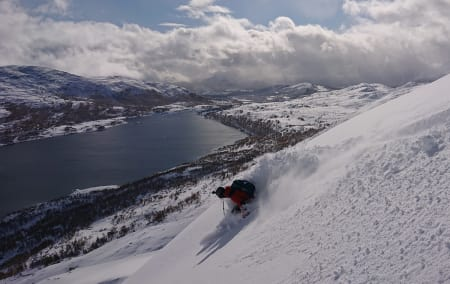 Septemberpudder i Oppdal!
