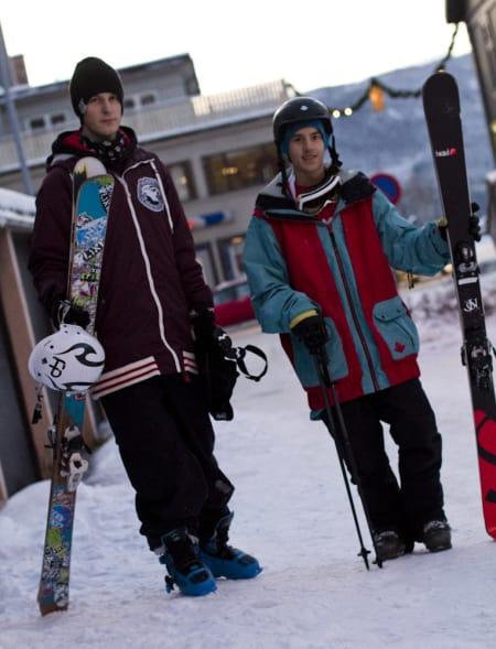 HOT NEWS: Even (t.v) og Jesper Tjäder har gjort magiske greier i Lillehammer denne uka. Foto: Hans Petter Hval