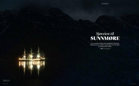 Med seilskute på Sunnmøre