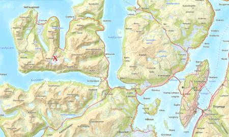 Skadet i skred i Troms
