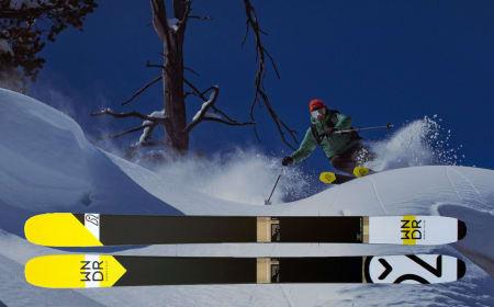 ALGESKI: Matt Sterbenz er mannen bak det nye skimerket WNDR - som lager ski i materialer basert på olje fra mikroalger.