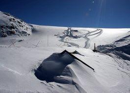 Det er mye snø på Folgefonna nå og senteret åpner 1.mai. Foto: Jan Petter Svendal