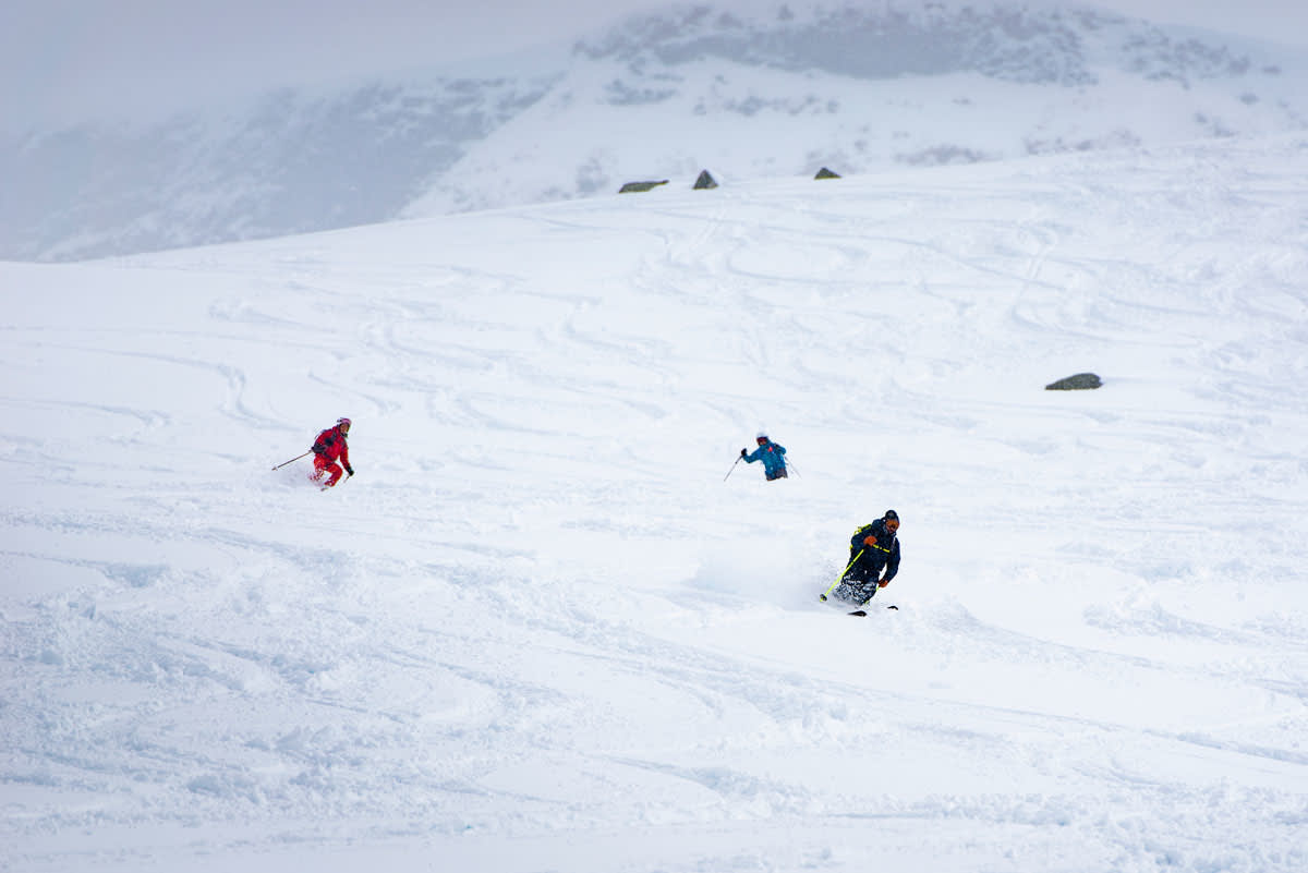 VERDENS STØRSTE TOPPTURFESTIVAL: High Camp på Turtagrø. Foto: Martin Innerdal Dalen